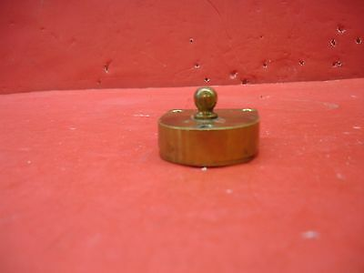 Vintage Antique Original Concealed Release Trigger Brass Latch Hardware 10