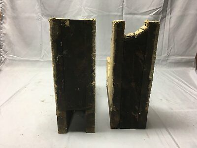 Antique 1890s Pair Wood Corbels Victorian Architectural Shelf Brackets 73-17B 10