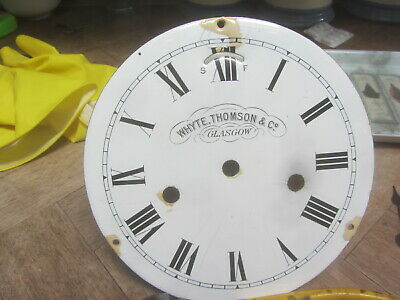 Brass Ships Clock By Whyte Thompson & Co Glasgow 11