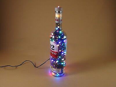 LED Leuchte Pyramid Star mit RGB und weiß umschaltbar für 4x1,5V Batterie #4162