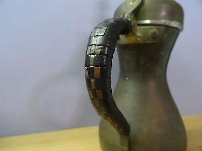 Big Antique Turkish Islamic Arabic Dallah Copper Brass Tea Coffee Pot 32 Cm Sing 3