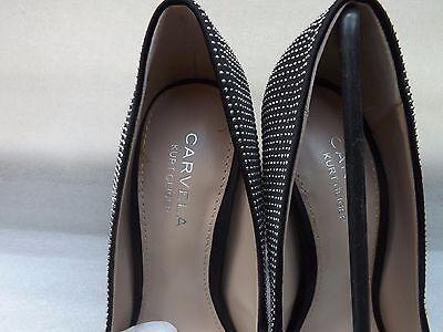 8d87cc31234 KURT GEIGER CARVELA Karina Black Satin High Heel Ladies Size UK 3 / EU 36 -  New
