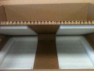 """Hexacomb /& Foam Custom Box 35/"""" x 23/"""" x 10.5/"""" 2U Server with foam insert Rails"""
