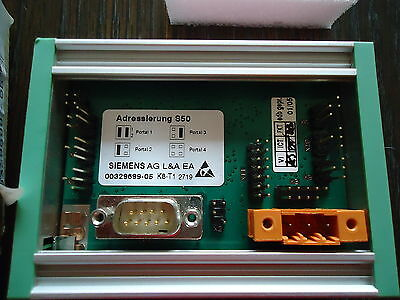 New Siemens Ag Control Unit/cutter Tape M/n 00329699-05 Adressierung S50