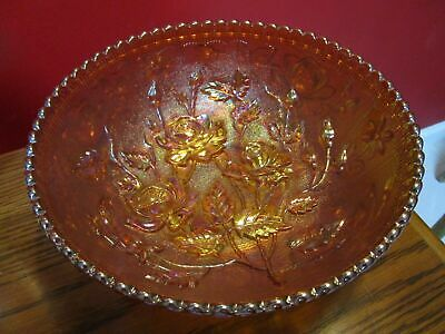 Marigold Carnival Amberina Decanter Footed Bowl Dome Butter Dish Pitcher Pick1 8
