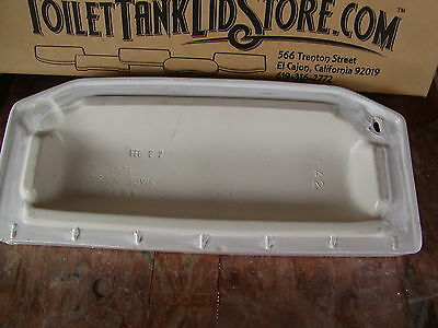 4078 Reproduction Toilet Tank Lid American Standard 735007
