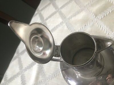 Vintage Silver Plate Wallace M616 Creamer or Syrup or Sauce Pitcher 3
