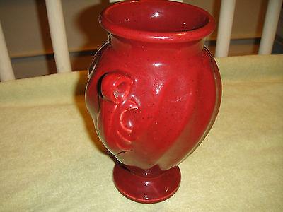 Haeger Pottery Burgundy Urn Vase Lovely Haeger Vase Wripple Design
