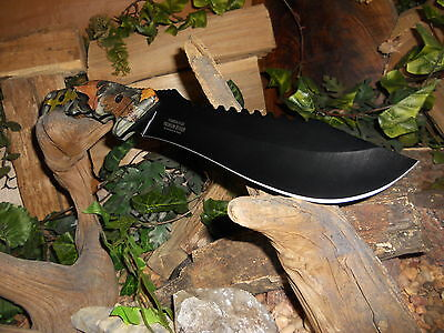 Knife/Bowie/Cleaver/Machete/Full tang/5MM/Hunting/Camping/Survival/HEAVY DUTY/FC 7