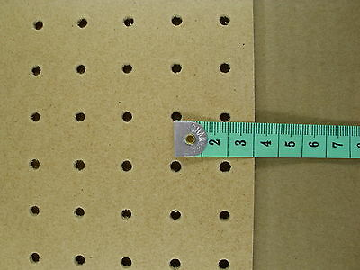 3mm wooden Pegboard 1200MM x 1200MM, 18mm Hole centres - 4mm holes perf hboard 5