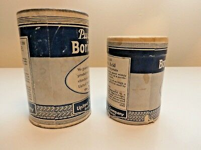 2 Containers Puretest Boric Acid-United Drug Company-L@@K! 4
