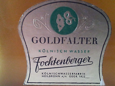 Fochtenberger Kölnischwasser -100 ccm - RARITÄT!!