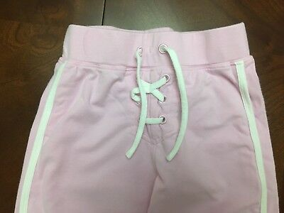 Next Little Girls Tie Front Jogging Trousers  Age 3 Years Ex Cond 2