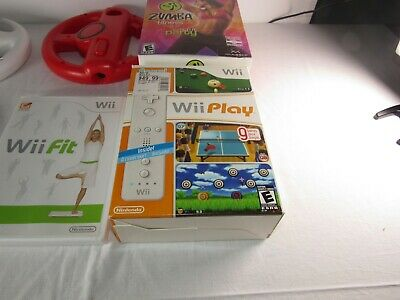 Box Of Misc Wii Stuff 3