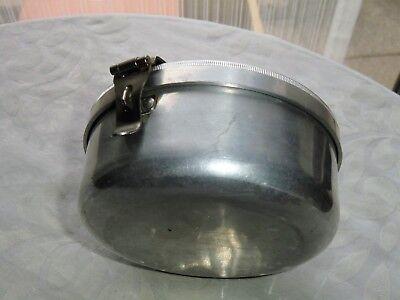 Wolfsiffer´s Pulvermisch-Dose rund komplett mit 3 Kugeln aus Aluminium 7