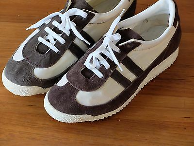 GERMINA allround Sneakers Turnschuhe DDR 70er Textil wildleder TRUE VINTAGE 38