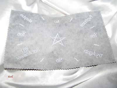 "12/"" x 8/"" Black Felt Pendulum Mat Altar  6 Designs to choose from"