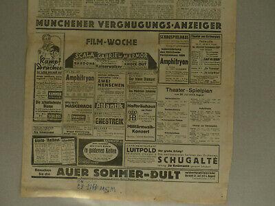Samuel Hahnemann Homöopathie 28.07.1935 Welt am Sonntag Cafe Luitpold München 2