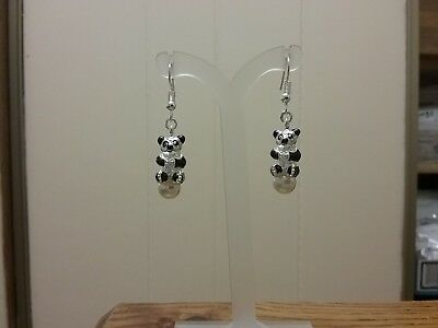 3 Of 4 Panda Bear Earrings