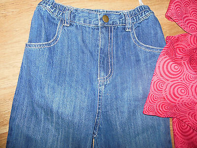 Fixoni girl outfit set top tunic & jeans 2 y 12-18-24 m, 3-4 y BNWT designer 3