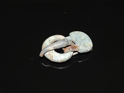 Fine bronze belt buckle . Goths. ca 200-400 AD 9