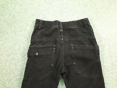"Next Relaxed Jeans Waist 26"" Leg 24"" Black Faded Boys 10Yrs Jeans 4"