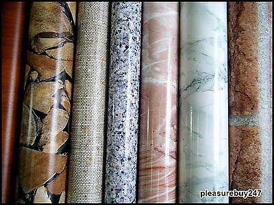 DC FIX Wood Marble DISCOUNTED Sticky Back Self Adhesive Vinyl Contact Paper