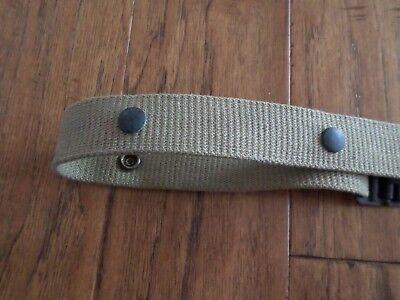 Wwii Marine Corps Usmc Demolition Belt Or M1 Carbine Clip Pouch Belt 5 Snap 5
