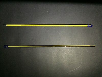 Thermometer Glass Celsius, Yellow Backed, 300 MM, NON MERCURY VARIOUS RANGES 4