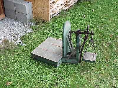 Alte Waage - Sackwaage - Dezimalwaage - Kartoffelwaage mit Gewichten