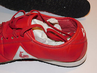 VINTAGE LE COQ SPORTIF Wendon Nylon red 50562 taille 37 us 5