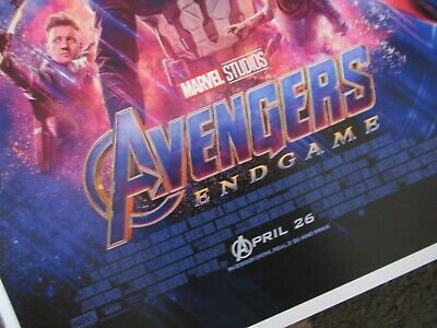 """Avengers -  Endgame ( 11"""" x 17"""" ) Movie Collector's Poster Print ( T2 )- B2G1F 3"""