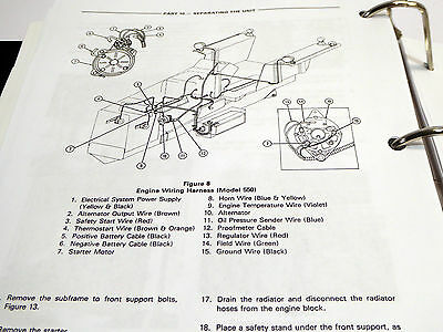 Ford 555 Backhoe Charging System Wiring - Wiring Diagrams Ford D Alternator Wiring Diagram on