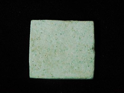 Zurqieh - Q2- Ancient Egyptian Faience Plaque / Pendant With Eye Of Horus 2