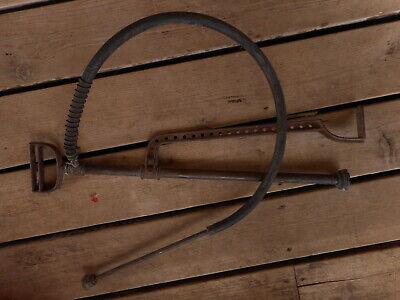 Vintage Antique Hand Pump Rare Cast Tool Farm Salvaged Barn Fresh non working 8