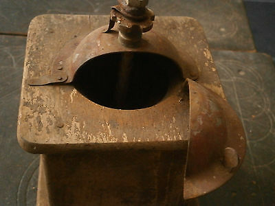 Old Rare Antique Wooden Crusher Grinder Mill 4
