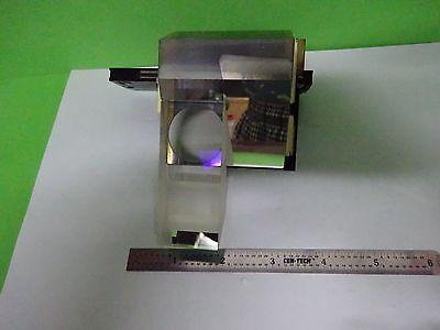 Microscope Pièce Polyvar Reichert Leica Tête Prismes Assemblage Optiques 6