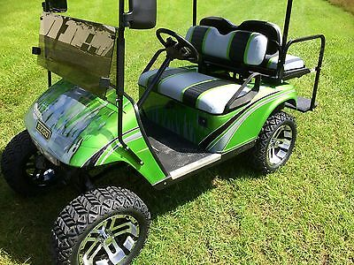 MOTORHOME THEMED PAINT Job on an EZ GO TXT or RXV Golf Cart ... on