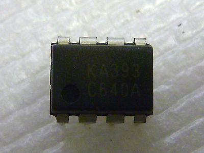 100 Stücke LM393P LM393N LM393 DIP-8 Niederspannungsvergleicher fq