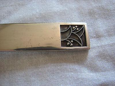 Evald Nielsen Denmark Silver 830 - Pattern #33 - Large Serving Spoon 5