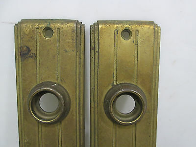 Vintage Art Deco Style Backplates and Knobs 2