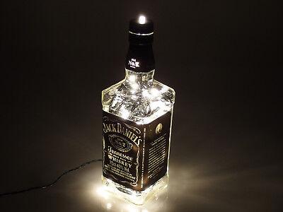 Jack Daniels - Flaschen Lampe mit 80 LEDs 220V Warm- UND Kalt-Weiß UMSCHALTBAR 2