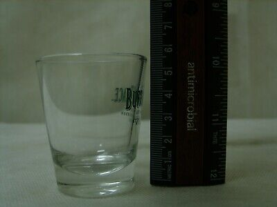 Buffalo Trace Bourbon Whiskey - Promo Branded Glass Barware Shotglass Shot Glass 3