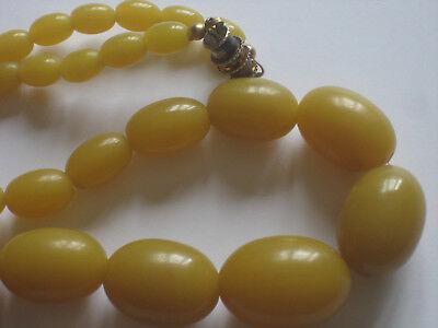 Perles Collier Collier Perles Lucite Années 5060 Lucite 0OnPk8wX