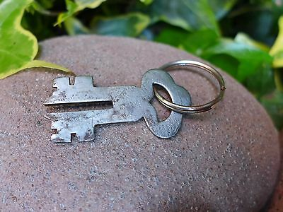 Antique Vintage Padlock with one key, working order, hobby, collector 05 4