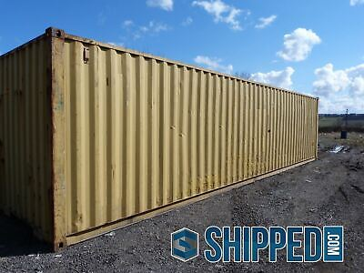 ON SALE! USED WWT 40FT HIGH CUBE SHIPPING CONTAINER HOME STORAGE in DALLAS TEXAS 3