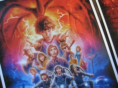 """Stranger Things (11"""" x 17"""")  Collector's Poster Prints  ( Set of 3 ) 3"""
