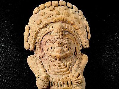 Authentic Pre Columbian Clay Art Figure From Ecuador 2