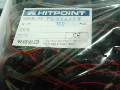 pack of 10  x 3-24V DC 3.5Khz piezo buzzer Hitpoint PK-21A35W