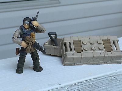 LEGO/MEGA BLOKS MINIFIGURE Military Army Delta Force Call of Duty Seal Team  Lot7